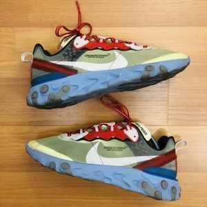 UNDERCOVER X NIKE ELEMENT REACT SIZE 9